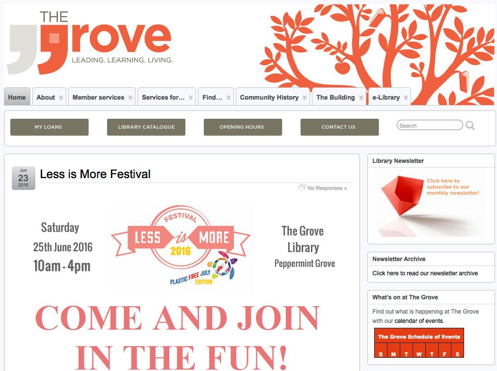 Grove screen